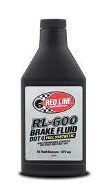 Redline Racing Brake Fluid RL-600 Item number: 35-60100