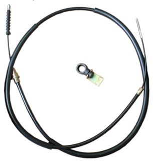 Handbrake Cable, Left, Saab 9000 -1986 Item number: 108964348-EM
