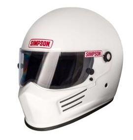 Simpson Hjälm Bandit Vit XS-XXL Item number: 5110-6200001F