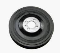 Used Crank Pulley, Genuine Saab 9-5 & 9-3 II Item number: 1093191381-EM