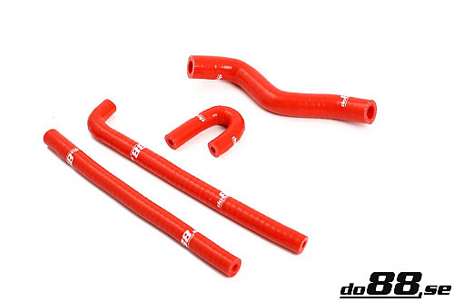 SAAB 9-3 2.0T 2003- Solenoid valve & crankvent hoses Red Item number: DO88-kit3R
