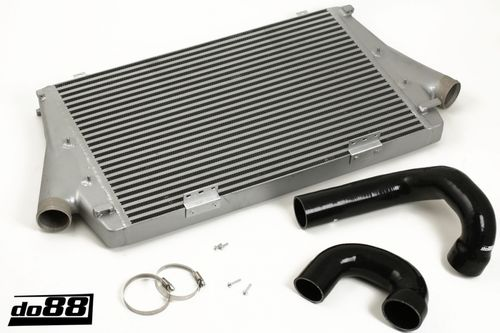 SAAB 9-3 2.0t 2003- Intercooler, black hoses, Manual Item number: 65-ICM-110-I4-M-S