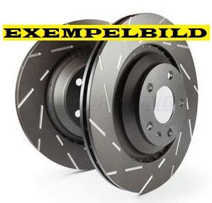 EBC Brake disc front, Saab 288mm Item number: 29-USR821