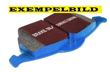 Bromsbelägg fram, EBC Bluestuff, 345 mm skiva, Saab 9-3 II 08- Artikelnr: 29-DP51574NDX