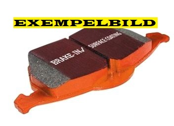 EBC Orangestuff brake pads front, 345 mm disc, Saab 9-3 II 08- Item number: 29-DP91574