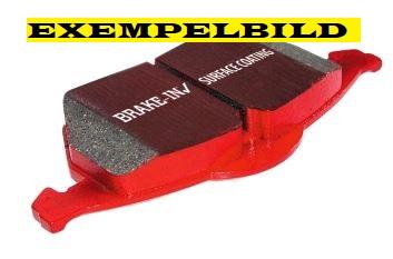 Bromsbelägg fram, EBC Redstuff, Saab 9-5 II 296mm skiva Artikelnr: 29-DP32013C