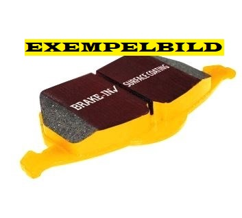Bromsbelägg fram, EBC Yellowstuff, Saab 9-5 II 337mm skiva Artikelnr: 29-DP42015R