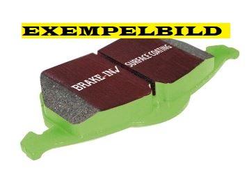 Bromsbelägg fram, EBC Greenstuff, Saab 9-7X -2005 Artikelnr: 29-DP61618