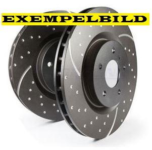 EBC Bremsscheibe vorn (288 mm) 900 II 97-98, 9-3 98-02, 9-5 98-09 Artikel-Nr.: 29-GD821