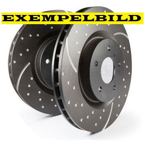 Bremseskive for EBC sport, 345mm, Saab 9-3 03- Item number: 29-GD1460