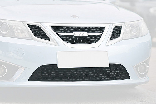 ESQS Front Upper and Lower Grille Kit, Saab 9-3 Griffin/Nevs Artikel-Nr.: ESQS1001/4