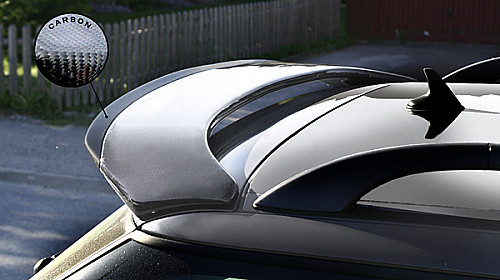 Rear roofspoiler with carbon tip Item number: 22-950502987