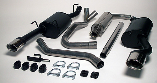 Maptun Complete Exhaust Twin pipe 9-3 98- Item number: 04-13027H