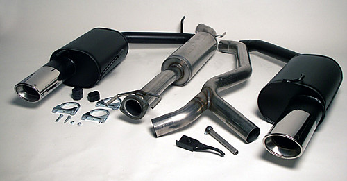 Maptun Complete Exhaust twinpipe 9-5 1998-2005, not Aero 2004-2005 Item number: 04-14010H