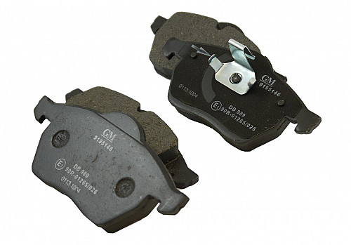 Front Brake Pads, Saab NG900, 9-3 & 9-5 Item number: 105062203