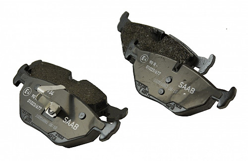 Rear Brake Pads, Saab 9-5 99-09 Item number: 105058110