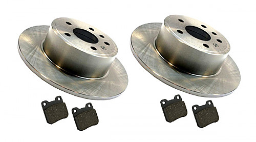 Rear Brake Discs & Pads Kit, Saab NG900, 9-3, 9-5 Item number: 96-BKIT6