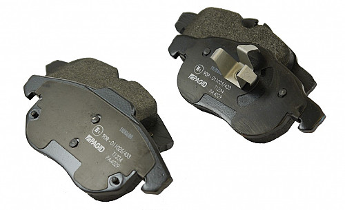 Front Brake Pads, Saab 9-3 II 285mm & 302mm Item number: 05-PT1234