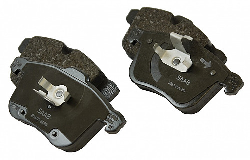 Front Brake Pads, Saab 9-3 II 314mm Item number: 05-PT1247