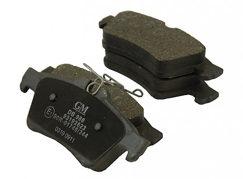 Rear Brake Pads, Saab 9-3 II Solid/Vented Item number: 1013322091