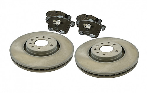 Front Brake Disc & Pad Kit, Saab 9-3 II 314MM Item number: 96-BKIT11