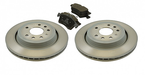 Rear Brake Discs & Pads Kit, Saab 9-3 II 292mm Vented Item number: 96-BKIT13