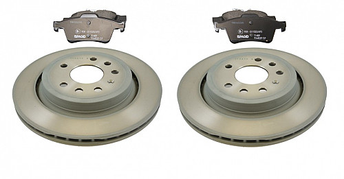 Rear Brake Discs & Pads Kit, Pagid Saab 9-3 II 292mm Vented Item number: 96-BKIT14
