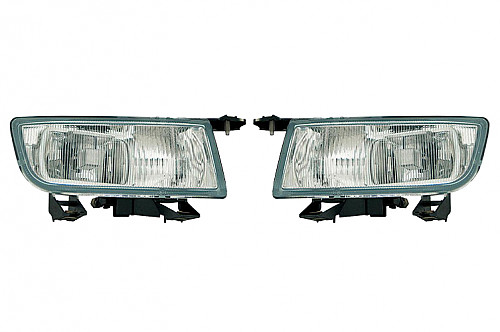 Fog light set, Saab 9-3 98-02 & 9-5 98-01 Item number: 96-400107330