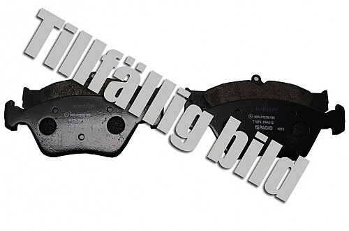 Front Brake Pads, Saab 9000 88-98 Item number: 05-PT1052