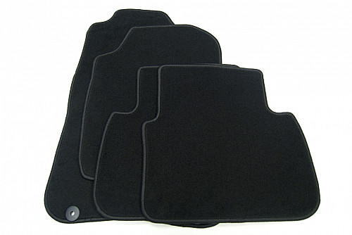 Textile Mat Set Black, Saab 9-3 03-12 Item number: 1012824103