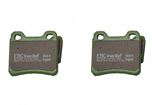 Rear Brake Pads Greenstuff, EBC Saab NG900 94-96 Item number: 29-DP2761