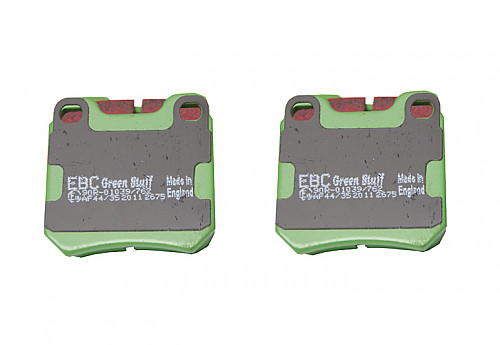 Rear Brake Pads Greenstuff, EBC Saab NG900, 9-3 & 9-5 Item number: 29-DP2675