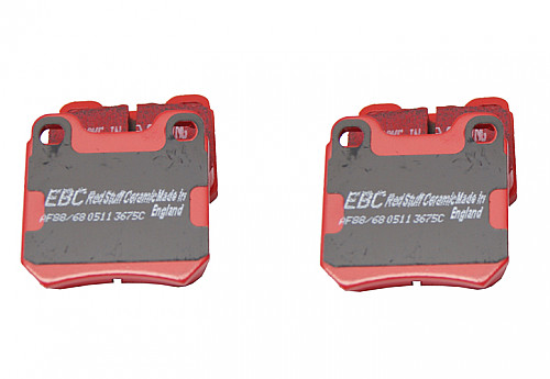 EBC Red Stuff Brake pads rear, Saab NG900, 9-3 I, 9-5 Item number: 29-DP3675