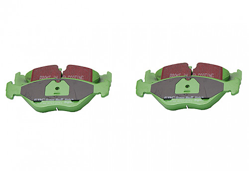 Front Brake Pads Greenstuff, EBC Saab 9000 89-98 Item number: 29-DP2751