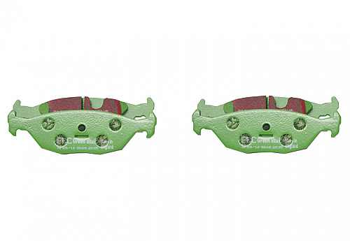 Rear Brake Pads Greenstuff, EBC Saab 9000 89-98 Item number: 29-DP2635