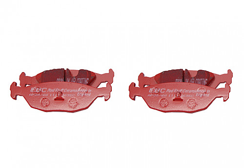 Rear Brake Pads Redstuff, EBC Saab 9000 89-98 Item number: 29-DP3635