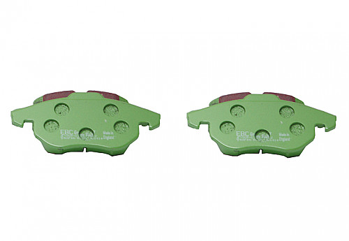 EBC Green Stuff Brake pads front, Saab 285 & 302mm disks 9-3 II 03-11 Item number: 29-DP21414