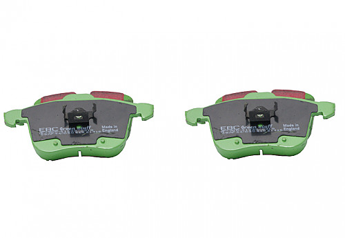 EBC Green Stuff Brake pads front, 314mm disks, Saab 9-3 II 03- Item number: 29-DP21416