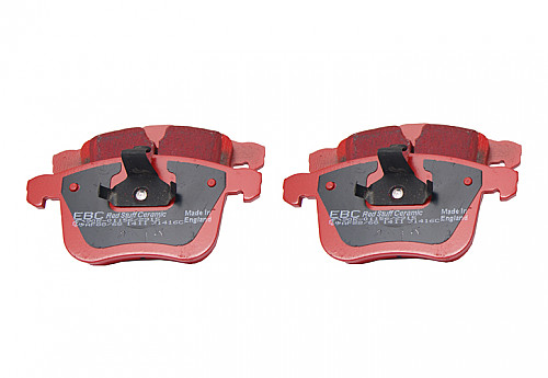 EBC Red Stuff Brake pads front, 314mm disks, Saab 9-3 II 03- Item number: 29-DP31416