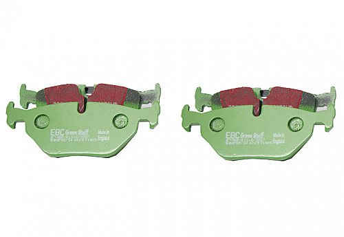 Rear Brake Pads Greenstuff, EBC Saab 9-5 99-09 Item number: 29-DP21405