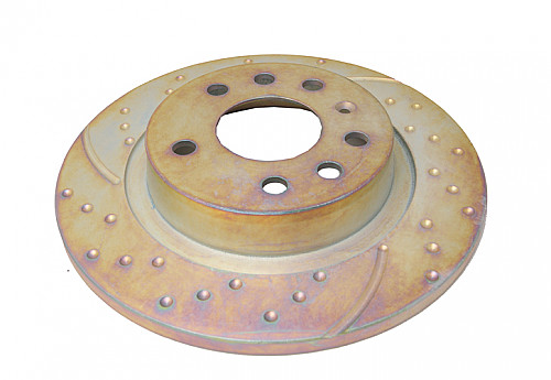 Rear Brake Disc (solid), EBC Saab 9-3 II 03-11 Item number: 29-GD1252
