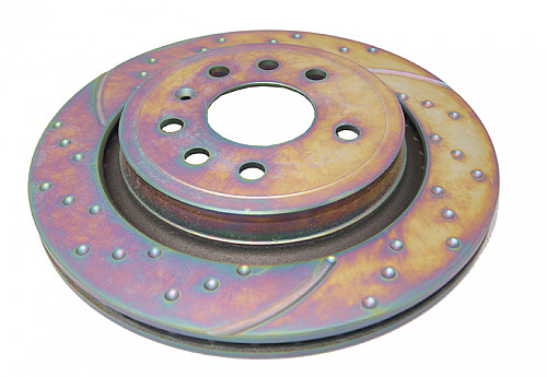 Rear Brake Disc, EBC Saab 9-3 II XWD/Turbo X Vented 4WD Item number: 29-GD1769