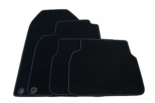 "Textile Mat Set ""Griffin"", Saab 9-3 II 08- LHD Item number: 1012824105"