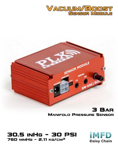 PLX turbónyomás és vákuum jeladó Cikkszám: 88-301