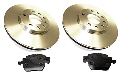 Front Brake Disc & Pads Kit, Genuine Saab NG900, 9-3, 9-5 Item number: 96-BKIT26