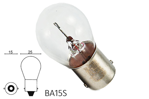 Bulb 21w, BA15S Item number: 02-12498