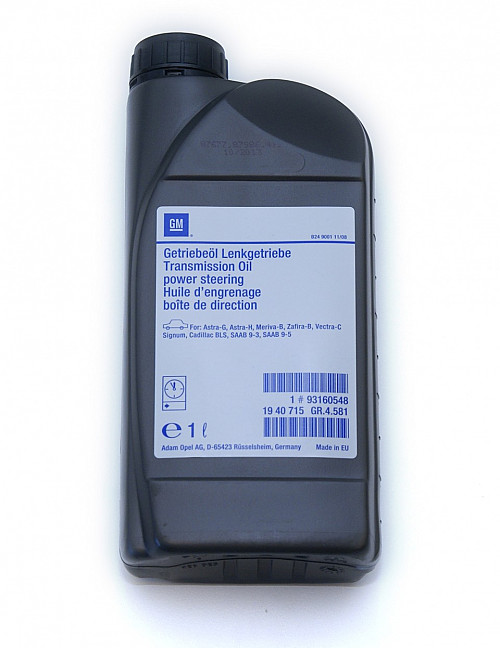 Power Steering Fluid, Saab 1998- Item number: 1093160548