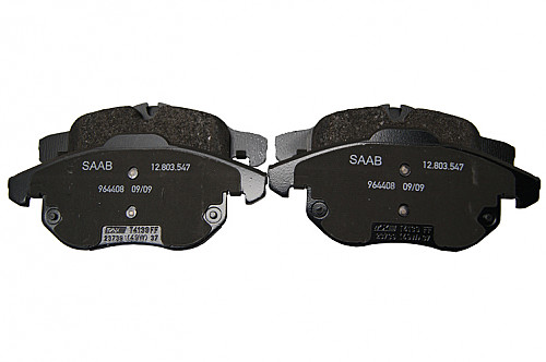 Front Brake Pads, Saab 9-3 II 285mm & 302mm Item number: 1093188111
