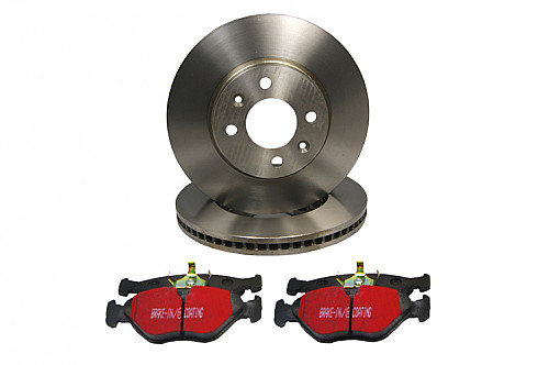 Front Brake Disc & Pad Kit, Pagid Saab 9-3 II 345MM Item number: 29-PDK099