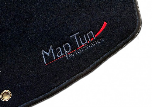Textile Mat Set Black, Maptun, Saab 9-3 II 03- cab, black Item number: 01-70106